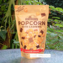 East Bali Popcorn with Cashew Chocolate Caramel 90 gram