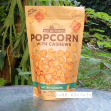 East Bali Popcorn with Cashew Salted Caramel 90 gr