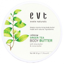 Evete Natural Body Butter Green Tea 50 gr