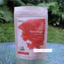 Herbilogy Red Ginger Powder / Ekstrak Jahe Merah